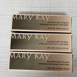 Mary Kay lot of 3 Nourishine lip gloss
